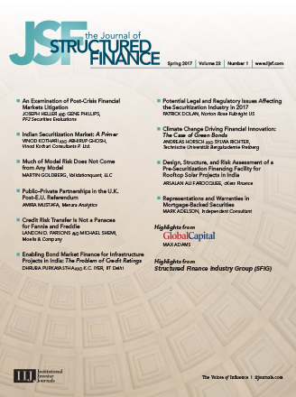 Journal Information | The Journal of Structured Finance