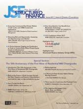 The Journal of Structured Finance: 23 (2)