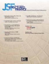 The Journal of Structured Finance: 24 (2)