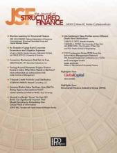The Journal of Structured Finance: 24 (3)