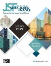 The Journal of Structured Finance: 25 (1)