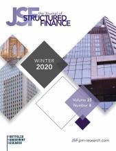 The Journal of Structured Finance: 25 (4)