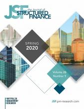 The Journal of Structured Finance: 26 (1)