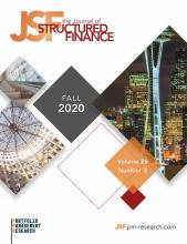 The Journal of Structured Finance: 26 (3)