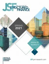 The Journal of Structured Finance: 27 (1)