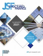 The Journal of Structured Finance: 27 (2)